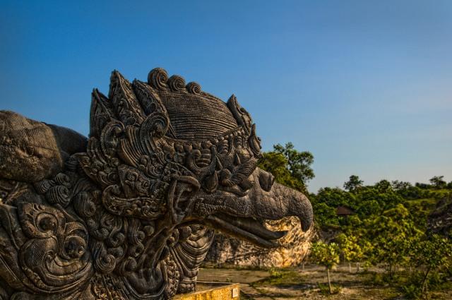 Garuda Statue in GWK Cultural Park, Bali, Indonesia