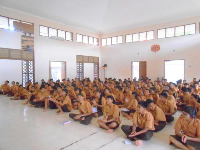 A Talk at Bali Mandara 1