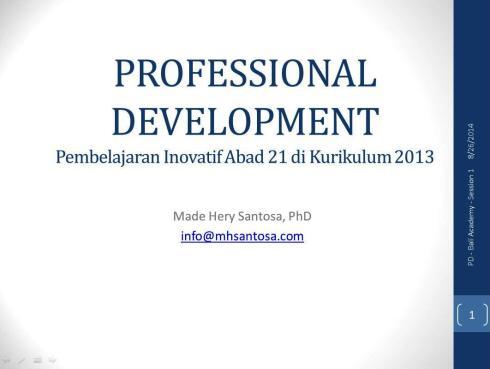 PD Session 1 - BM2