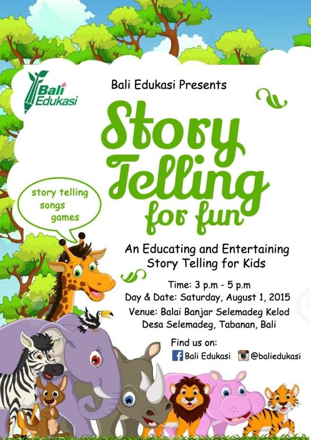 Poster-Story Telling-Bali Edukasi-01082015