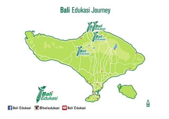 Bali Edukasi Map Journey