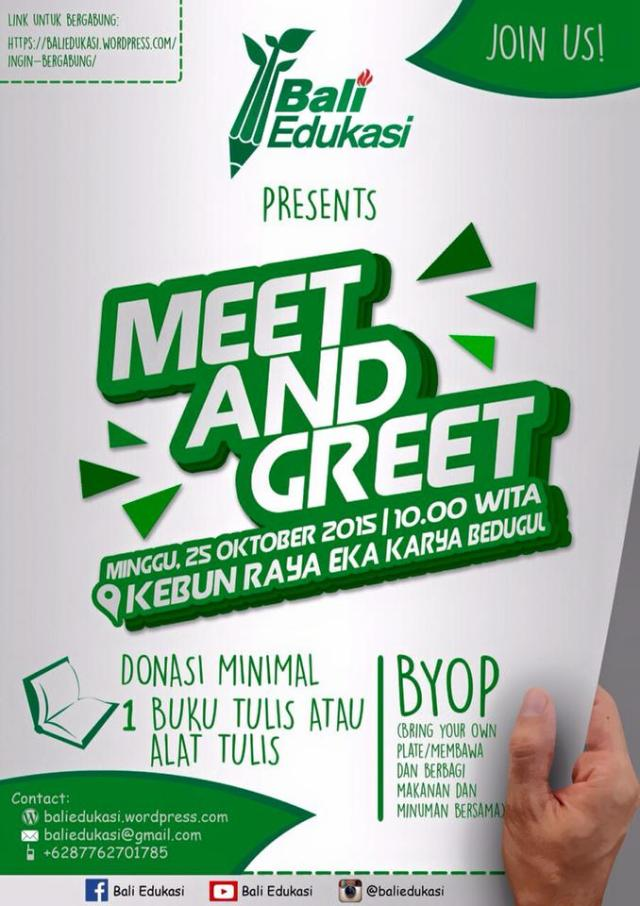 Meet and Greet BE